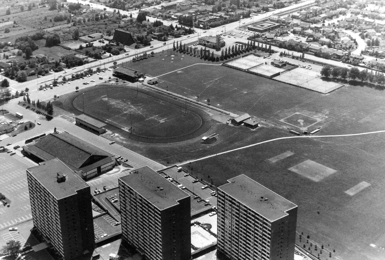 Minoru Park ca. 1977