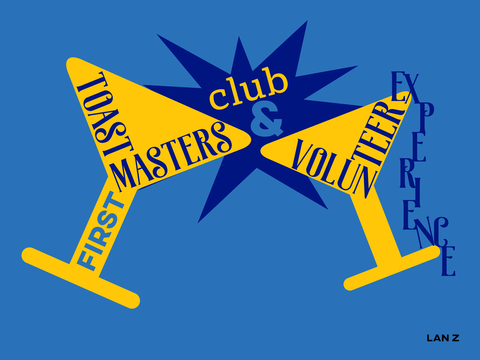 First toastmaster club and volunteer experience