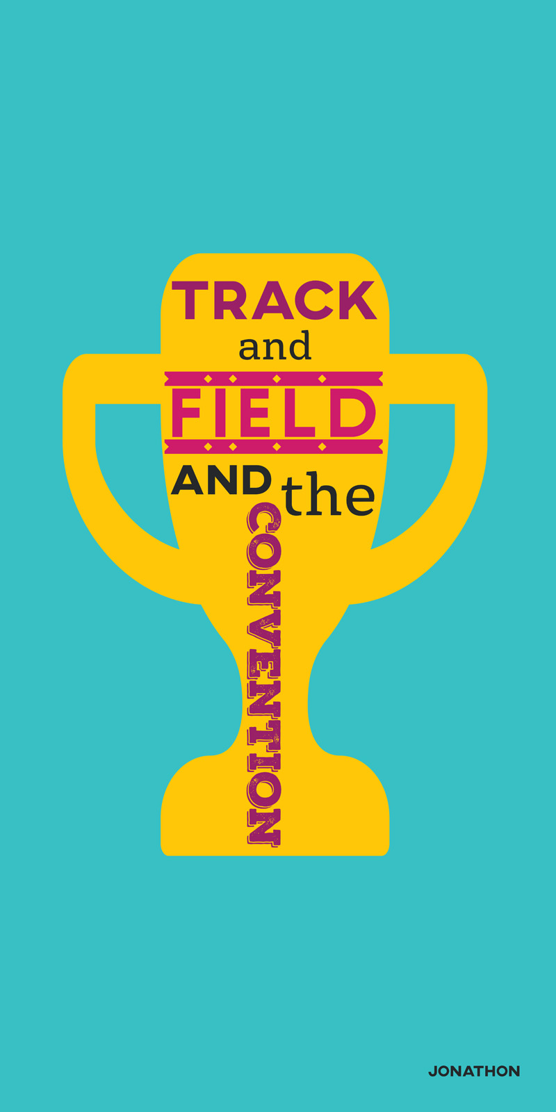 Track and field and the convention