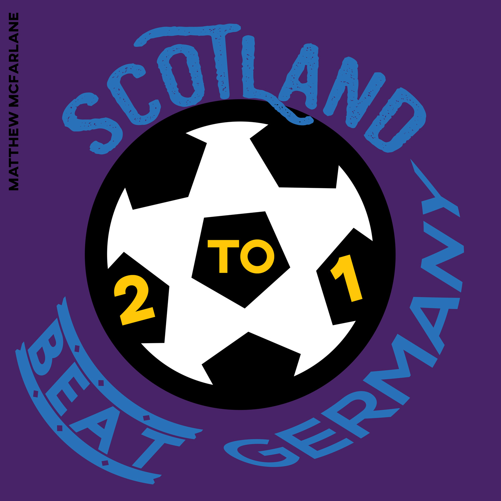 Scotland beat Germany 2 to 1.